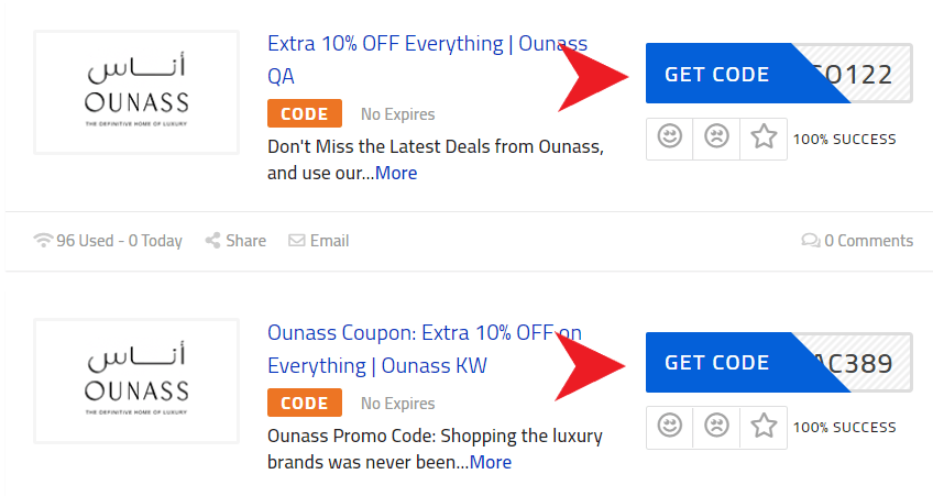 Ounass Coupon Code
