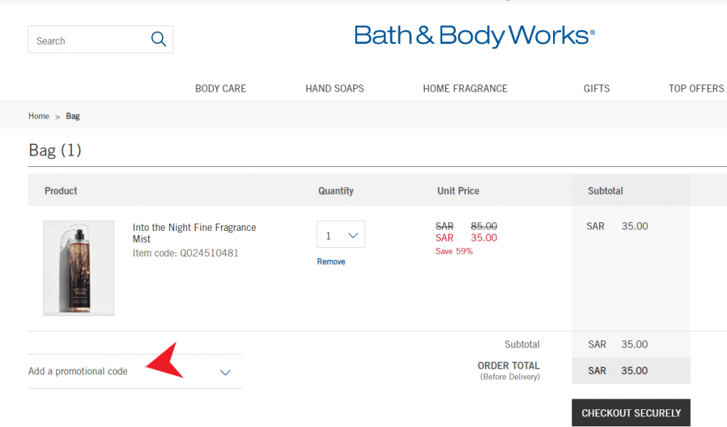 Bath&Body Works Discount